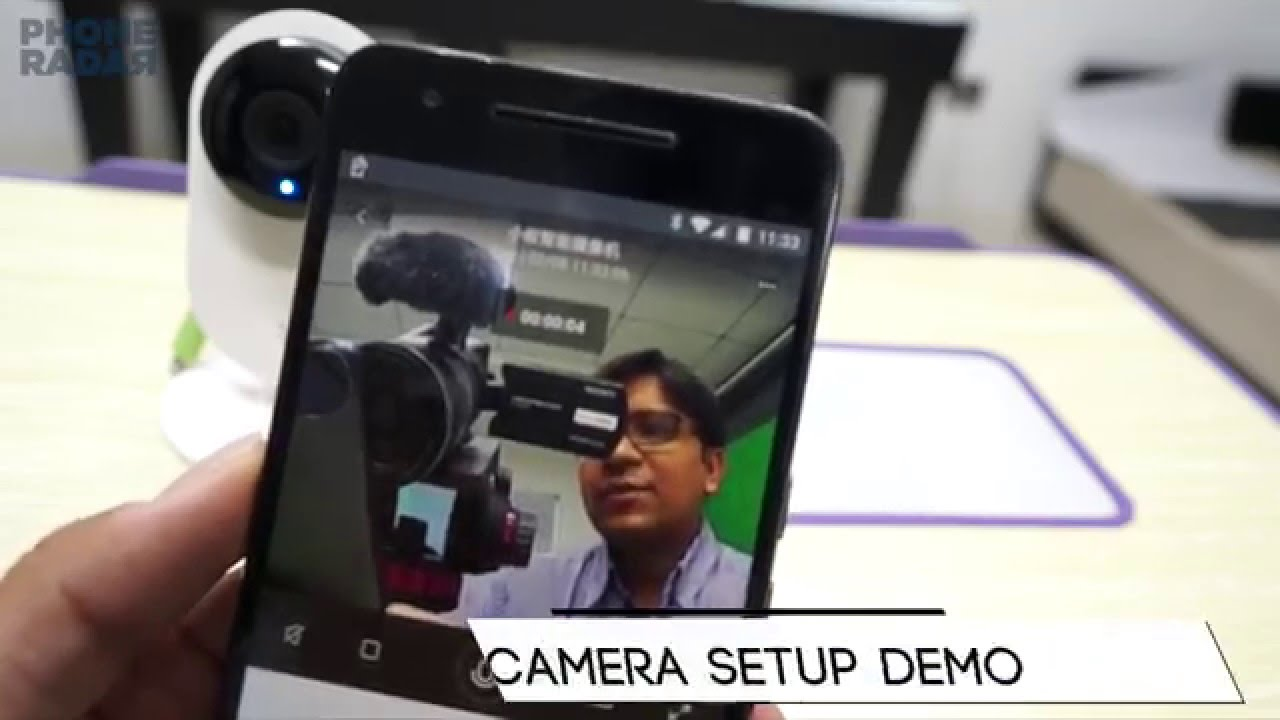 Yi Home Camera Setup, Errors Fix & Demo - PhoneRadar