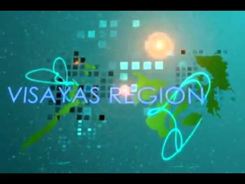 Map of Visayas Region with effects