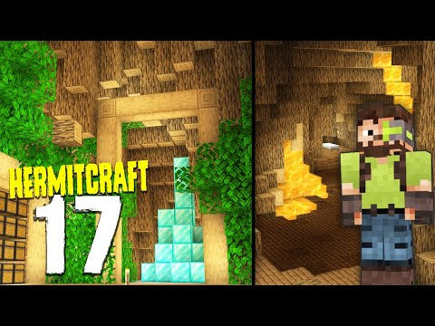 HermitCraft 7: 17   THE BASE IN MY TREE HOUSE!