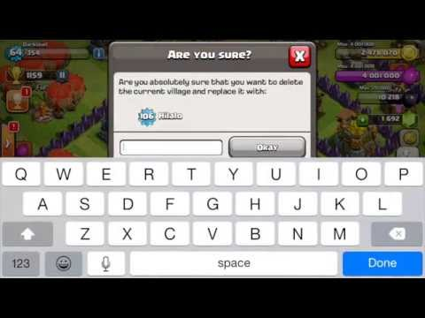Play on multiple/ two Clash of Clans accounts on the same device! For Apple, iOS devices