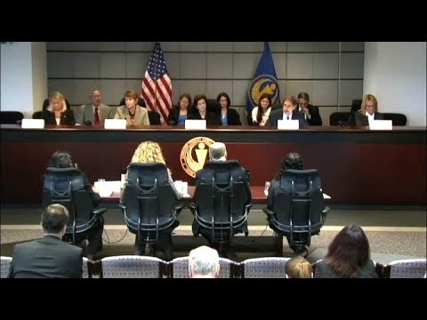 Commission Meeting: Agenda and Priorities for Fiscal Years 2013 and 2014