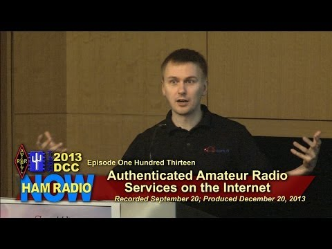 Episode 113 from the DCC: Authenticated Amateur Radio Web Services