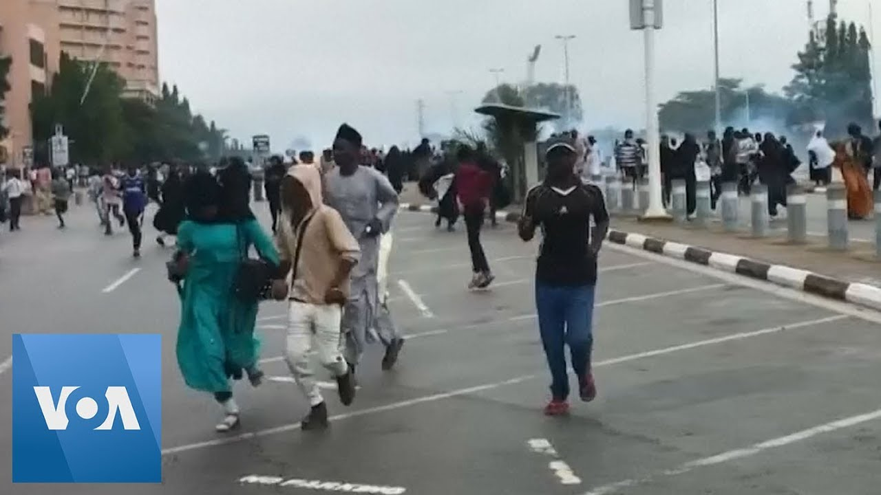 Nigeria protests: Eyewitnesses say security forces fired at protesters ...