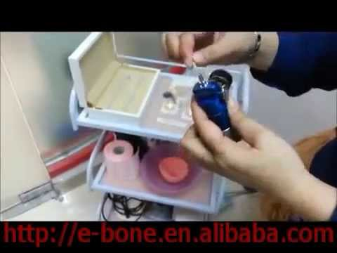 How to use the Carboxytherapy device CDT