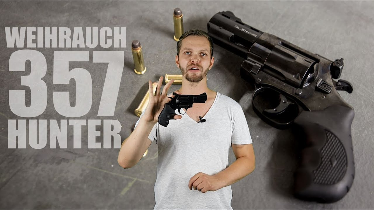 Revolver Weihrauch Target Trophy (Inox) - Armería Ayala