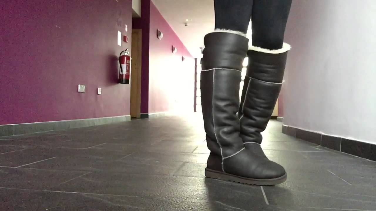 Ugg Over The Knee Boots Youtube