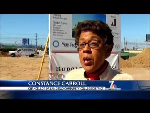 The San Diego Community College District Cesar Chavez Groundbreaking