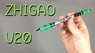 Zhigao Spinning Pen V20 – Обзор Фирменной Ручки для Pen Spinning