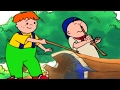 Funny Animated cartoon | Caillou's Picnic | WATCH CARTOON ONLINE | Cartoon for Children