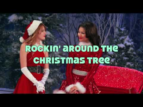 Bella Thorne - Rockin' Around the Christmas Tree (Lyrics) - YouTube