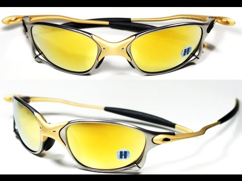eb61124ce Óculos oakley double x 24k gold iridium original - YouTube