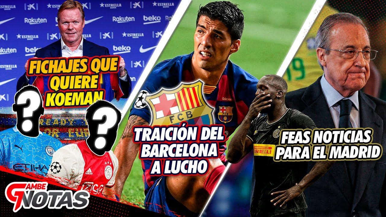Luis Surez sigue fuera de los planes de Koeman en el Barcelona