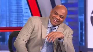 Charles Barkley reacts to Kevin Durant, Warriors LOSS TO Clippers 129-121 Game 5   Inside The NBA