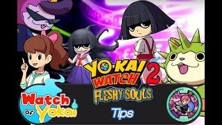 Yo-Kai Watch 2 Tips - Befriending Thornyan, Baddinyan, Toiletta and Foiletta
