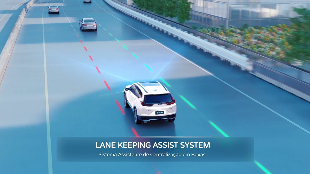 CR-V I Honda Sensing® - Lane Keeping Assist System