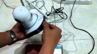 Cara setting ip camera P2P