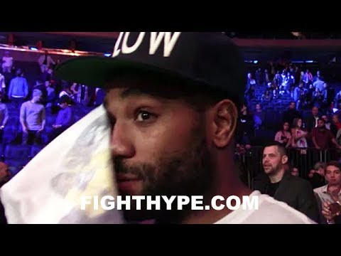 "CURTIS STEVENS EMOTIONAL AFTER SADAM ALI BEAT MIGUEL COTTO: ""I FEEL LIKE CRYING"""