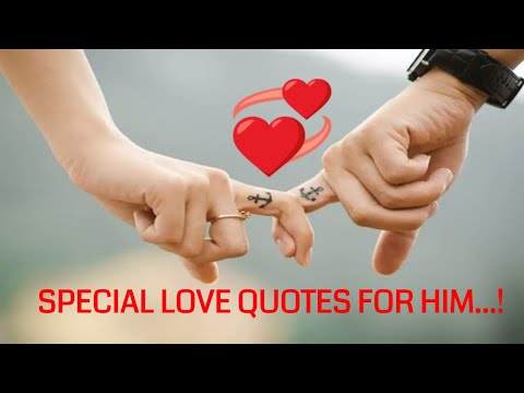 Special Love Quotes For Him 💛💛
