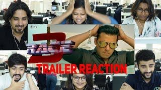 Race 3 | Trailer Reaction | Salman Khan | Remo Dsouza |