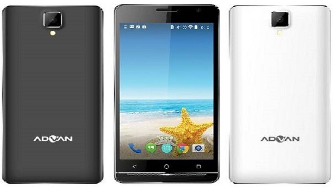 Advan I5a Glassy Gold 4g Lte Mobile Rely Design Premium