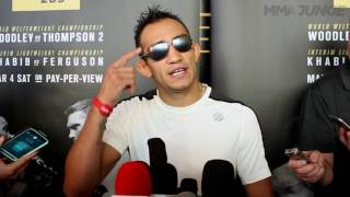 Tony Ferguson promises to finish Khabib Nurmagomedov at UFC 209