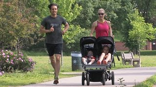 Proper Running Form with a Baby Jogger