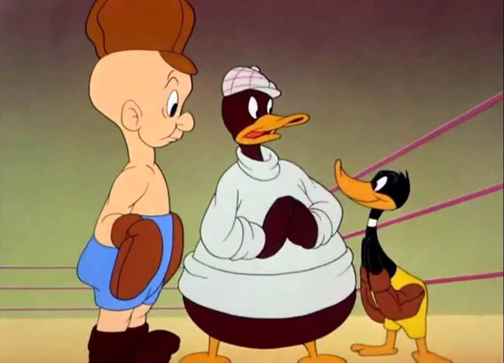 Daffy Duck Ft Elmer Fudd To Duck Or Not To Duck 1943 Classic