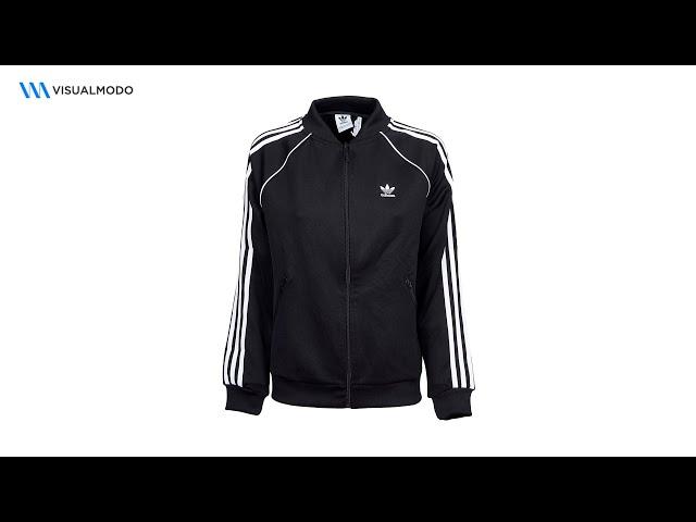 Adidas SST Track Jacket Men's Black Unboxing