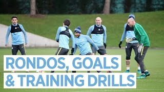 man city training   everton preparations begin