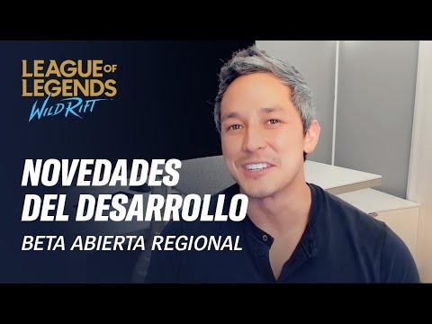 Novedades de desarrollo - ¡Empieza la beta abierta regional! - League of Legends: Wild Rift