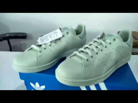 ADIDAS model STAN SMITH model ADIDAS CP9703 (Pharrell Williams) สีเขียว ab5044