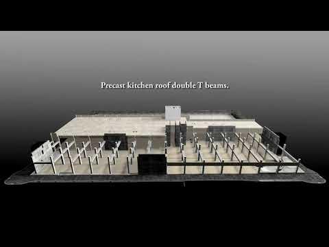Oldcastle Precast Builds Davenport Grand Hotel - Animation