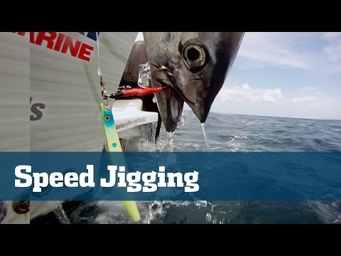 High Speed Vertical Jigging The Latest Drag Sizzling Craze - Florida Sport Fishing TV