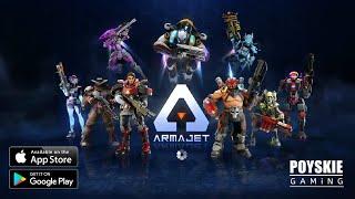 ARMAJET Gameplay 2021 screenshot 4