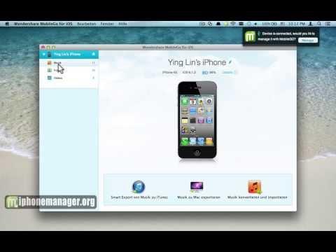 Wie Musik vom iPhone auf den Computer übertragen 6/5S/5C/5/4S/4 - iPhone Musik auf den PC