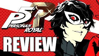 Persona 5 Royal Review - One of the Greatest Games Ever Made (Video Game Video Review)