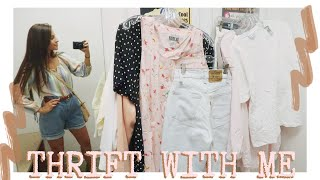 THRIFT WITH ME / clothing and home decor haul