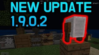 GRINDSTONE FEATURE?! New Minecraft PE 1.9.0.2 Update IS OUT + Snapshot 18w48a REVIEW