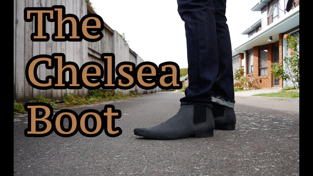asos chelsea boot grey w on feet youtube