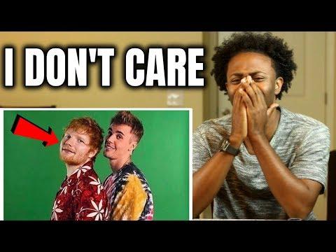 ed-sheeran-&-justin-bieber---i-don't-care-[reaction]