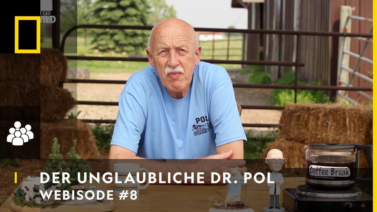 WEBISODE: Kaffeepause mit Dr  Pol | DER UNGLAUBLICHE DR  POL | NAT GEO WILD