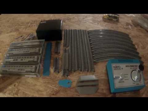KATO N Scale P42 Superliner Starter Set Unboxing