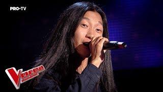 Feihong Basigu - Fly Me to the Moon | Auditiile pe nevazute | Vocea Romaniei 2018