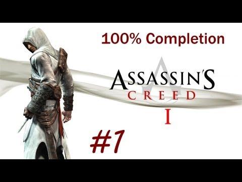 """Assassin's Creed 1"", HD walkthrough (100% + Subtitles), Memory Block 1: Solomon's Temple"