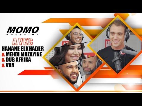 Hanane Elkhader & Mehdi Mozayine & DUB AFRIKA & Van avec Momo - الحلقة الكاملة