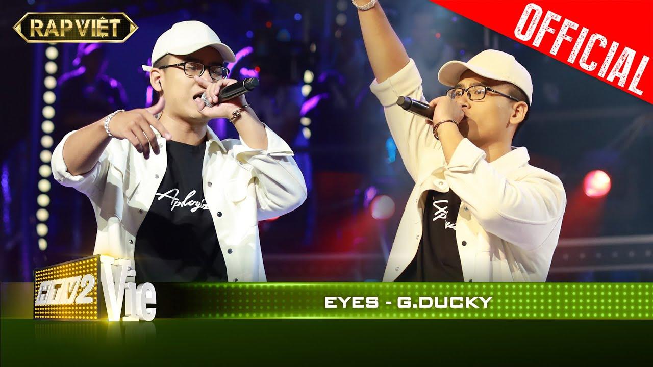 Làm sống lại ca khúc Đôi Mắt của Wanbi, GDucky khiến JustaTee phải sởn da gà| RAP VIỆT [Live Stage]