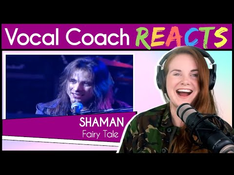 Vocal Coach Reacts To André Matos SHAMAN - Fairy Tale Live