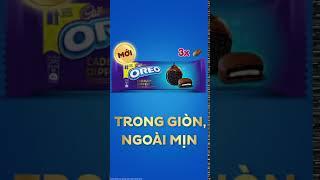 Oreo phủ sôcôla Cadbury cao cấp mới