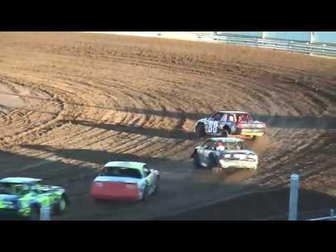 IMCA Stock Car Heats Independence Motor Speedway 8/20/16