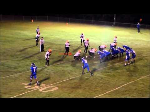 Markee Robinson #22 Senior Football Highlights Leake County High School Walnut Grove, Ms